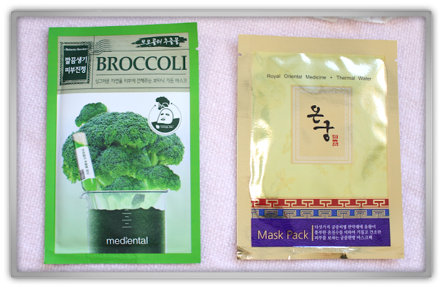 MaskGenie September Pouch review Mediental  Acai Berry Broccoli Pumpkin Mask Pack Royal Oriental Medicine Thermal Water