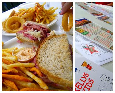 Reuben Sandwich at Kelly's Brew Pub in Nob Hill in Albuquerque, New Mexico