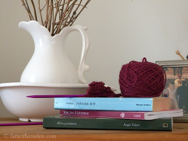 Yarn Along, Yammering, Another Giveaway, and a Winner!