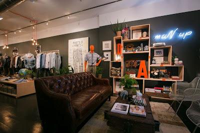 Pop-Up store, New York, Alpha Khaki, Levi's Strauss, Soho,