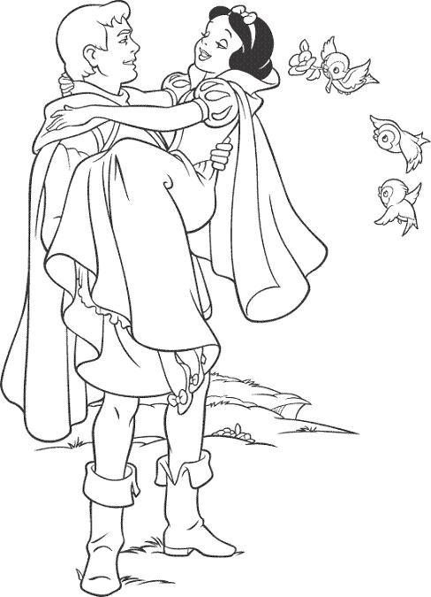 dibujos de princesas para colorear en el ordenador: