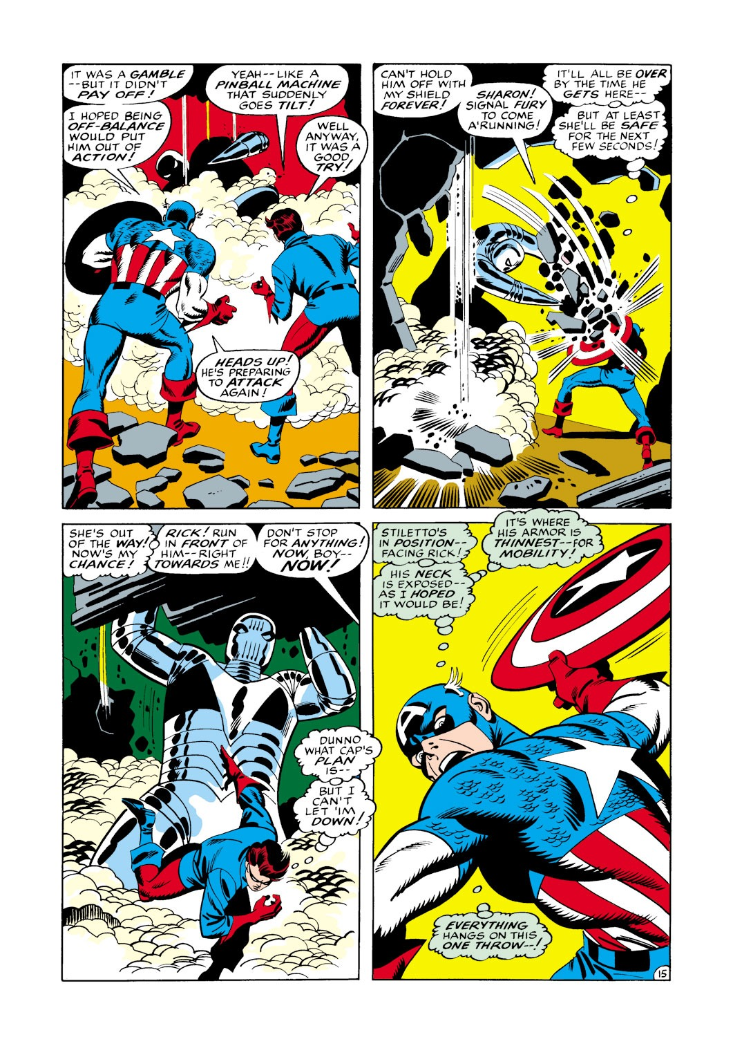 Captain America (1968) Issue #114 #28 - English 16