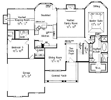 Awesome Home Design With Plans New American Country House