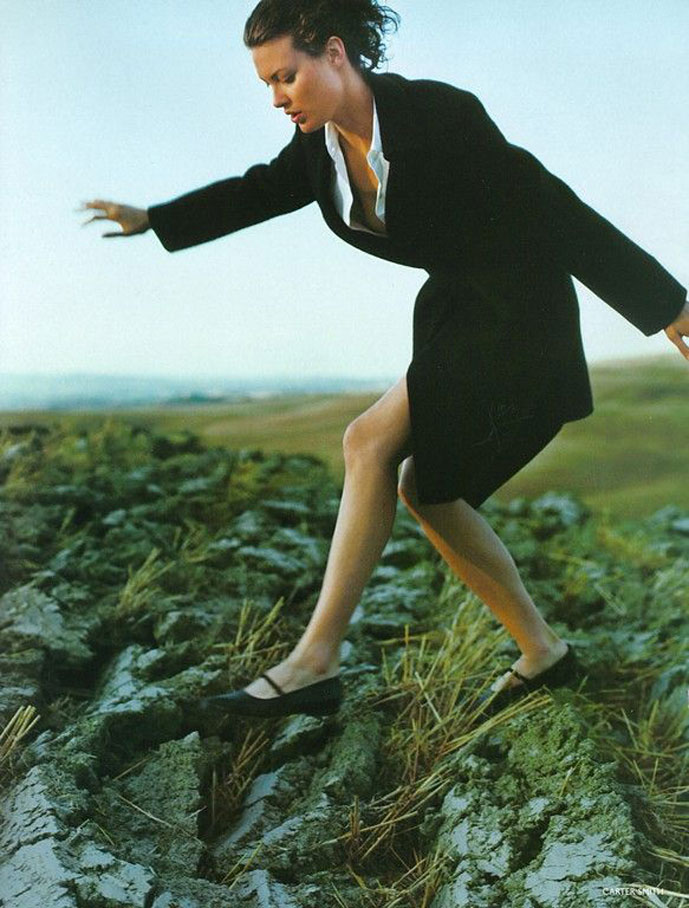 Vogue UK October 1997 (photography: Carter Smith; styling: Kate Phelan)