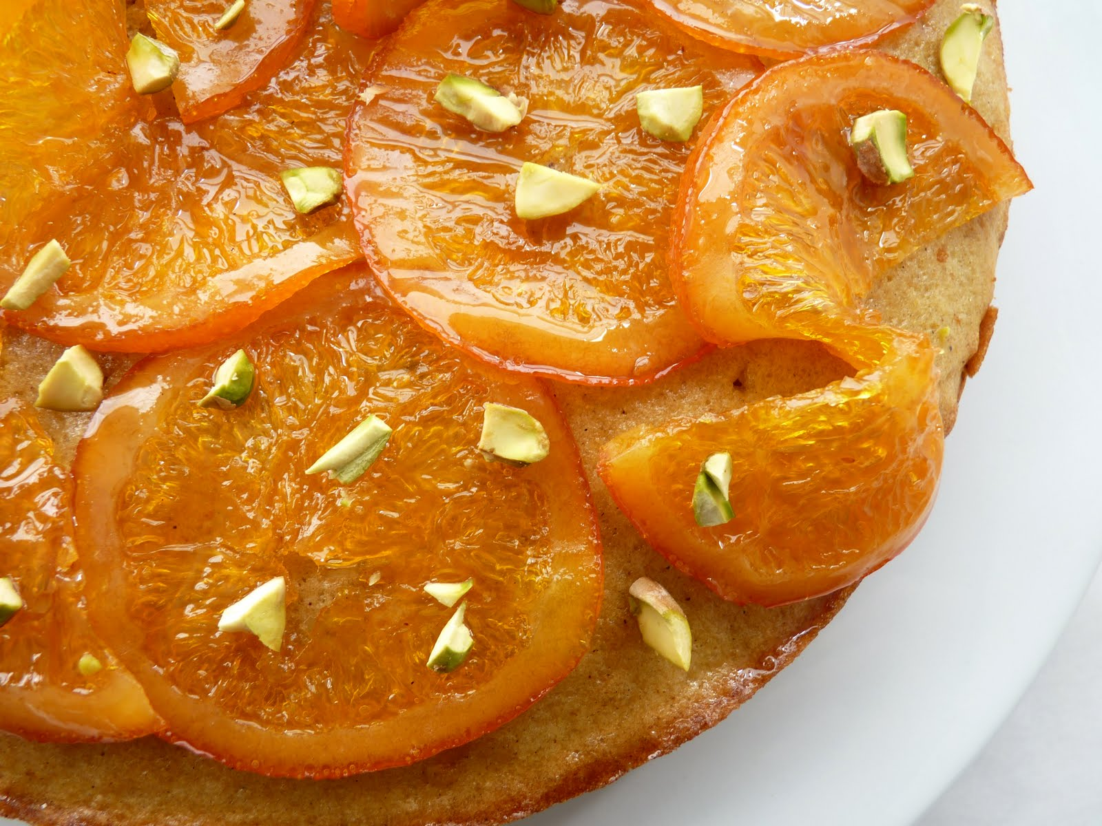 pastry studio: Olive Oil Cake with Candied Orange