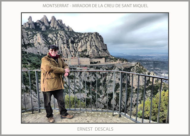 MONTSERRAT-MIRADOR-CREU-SANT MIQUEL-EXCURSIONS-MISTICA-CATALUNYA-ARTISTA-PINTOR-ERNEST DESCALS-