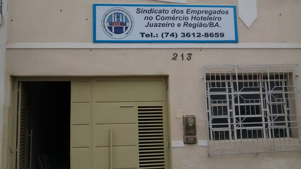 SECJUBA=SIND.DOS EMPREGADOS NO COMÉRCIO HOTELEIRO DE JUAZEIRO E REGIÃO BA.PRESID.PAULO GIL DE BRITO