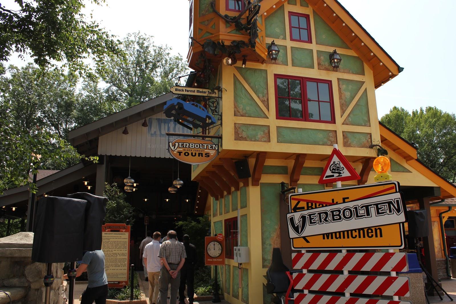 High Quality Ride Review   Verbolten At Busch Gardens Williamsburg