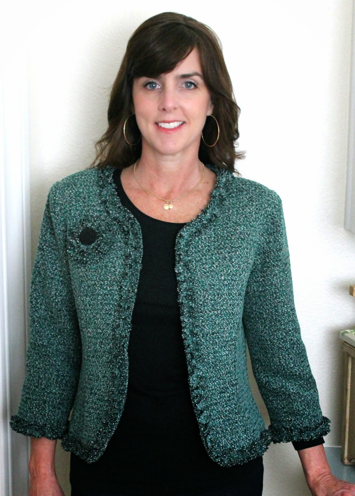 Boucle Jacket Pattern Boucle Jacket by Diane