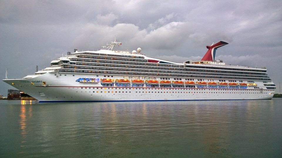 rays cruise travel blog carnival triumph review