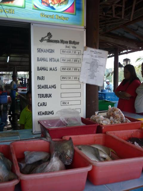 ikan bakar pantai jeram