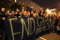 Stop Gardai brutality!