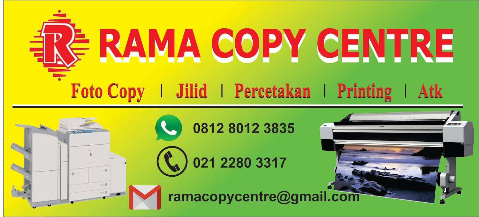 RAMA Copy Centre | Fotocopy | Percetakan | Printing 24 Jam di Jakarta