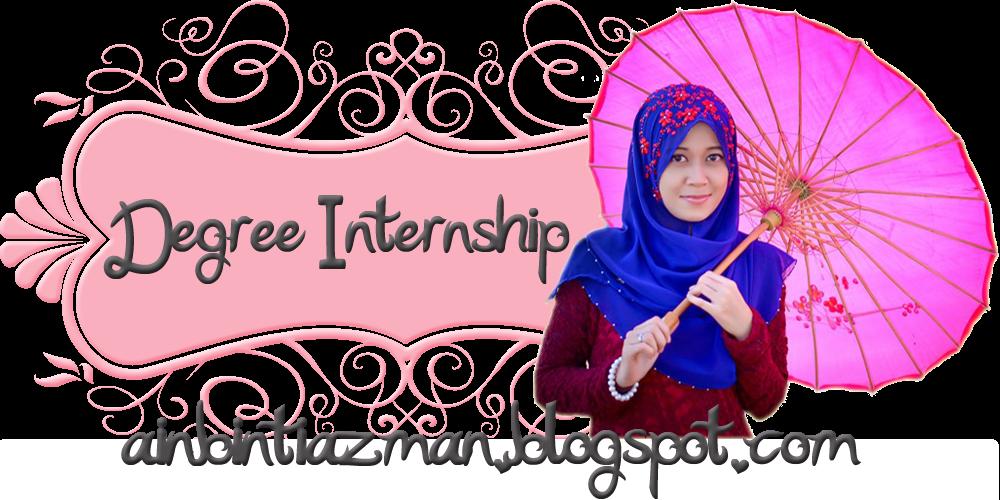 Internship 7 January - 28 February 2013