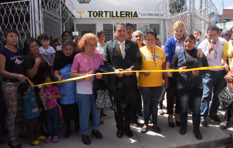 SE INAUGURA EN SOLEDAD SEGUNDO EXPENDIO DE TORTILLA SUBSIDIADA EN LA COLONIA LA CONSTANCIA
