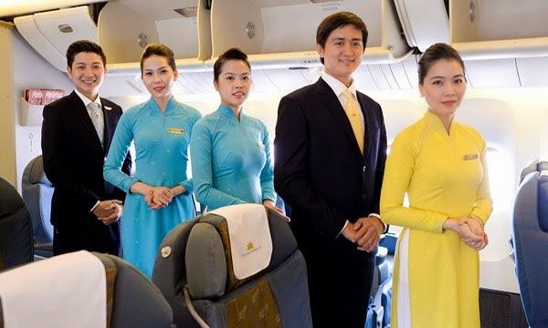 Đồng phục mới của VietNam Airlines