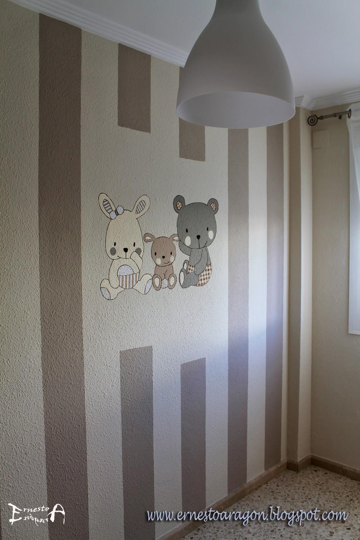 Ernesto arag n pintura para el hogar se or oso se ora - Pintura habitaciones infantiles ...