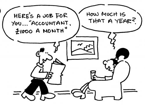 Accountant Cartoons