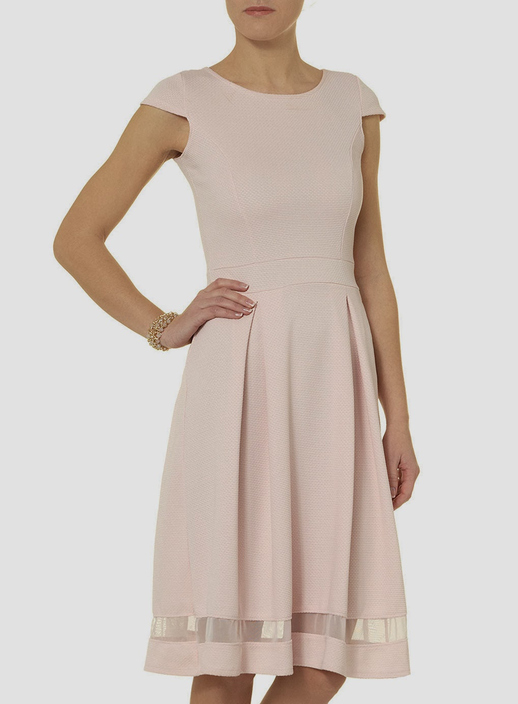 dorothy perkins cream dress