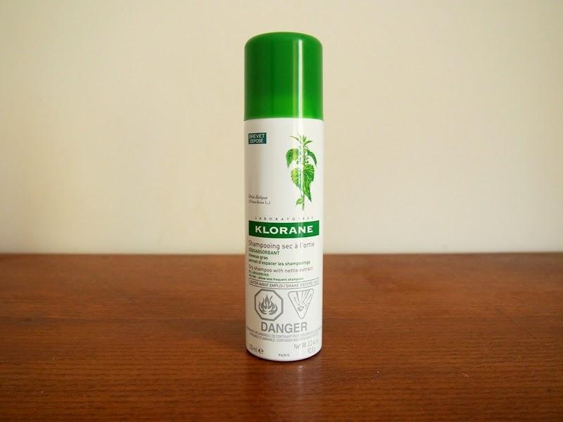 klorane oil absorbing dry shampoo