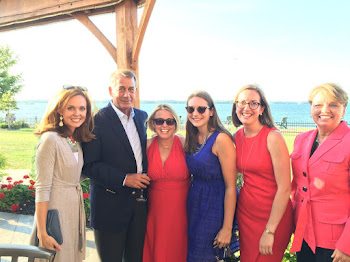 Speaker Boehner Hangs With Local GOP Women in Clayton at Stefanik Fundraiser