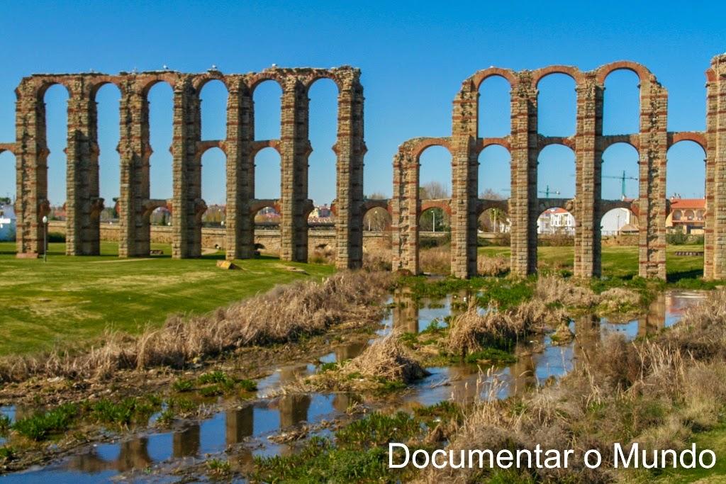 Aqueduto dos Milagres, Mérida, Espanha