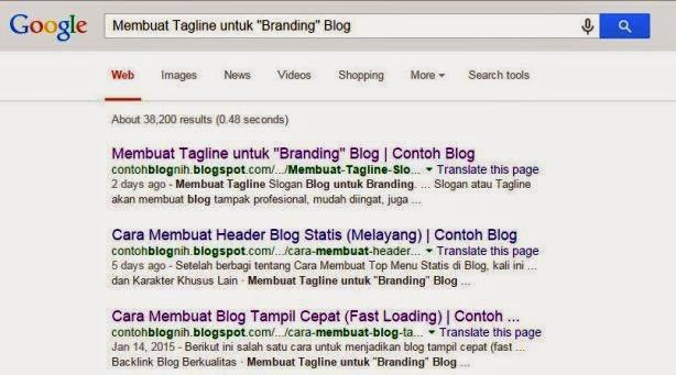 Cepat Agar Blog Terindeks Google