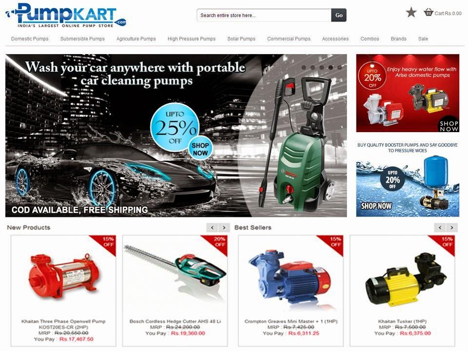 Water Pumps India | Water Pump Dealers - Pumpkart.com