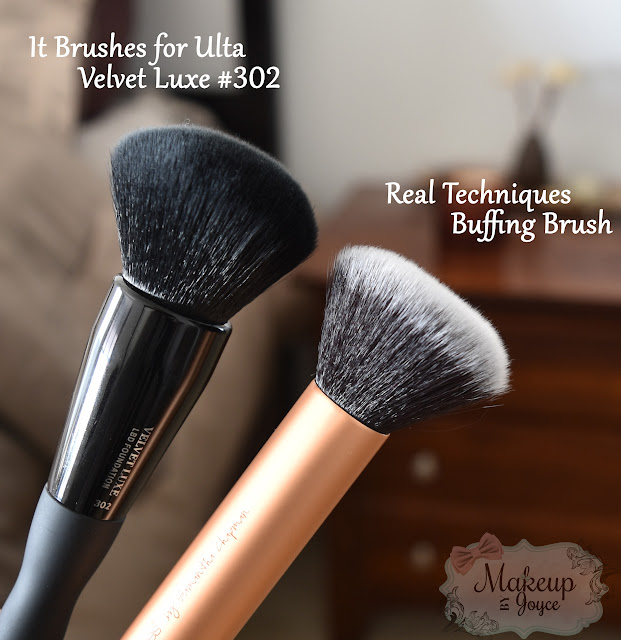 It Brushes for Ulta 302 vs Real Techniques Buffing Brush