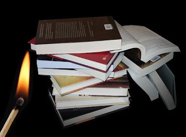 Deja comentarios o los libros arden