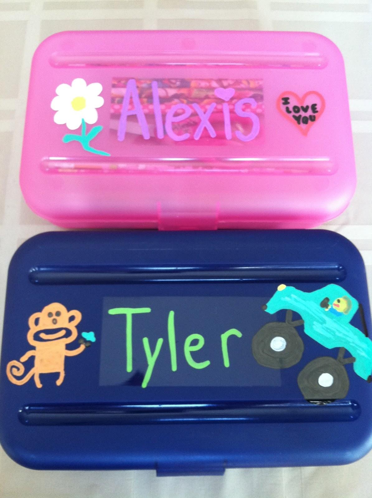 Decorate Pencil Case Its Fun 4 Me New School Year Teacher Gift