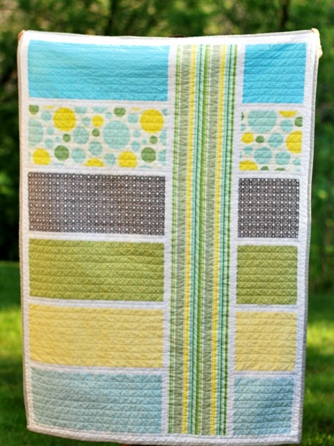 Modern Nursery Quilt Patterns : Love & Food in the Big D :): Patterned Pieces...
