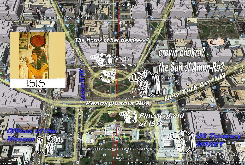 Records Of The Grand Historian Sex Magic ISIS In Washington DC - Washington dc street map hidden symbols