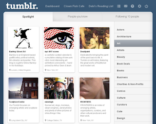 Tumblr Spotlight Page