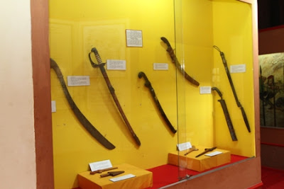 traditional weapons, Wasaka Museum Banjarmasin South Kalimantan, waja sampai kaputing