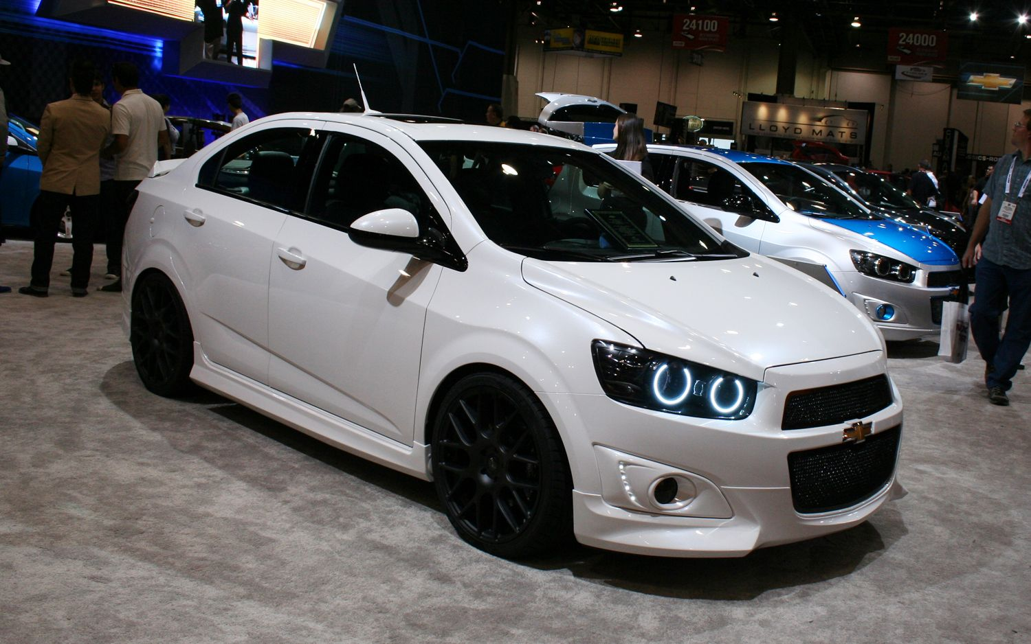 Autos Im 193 Genes Axel Chevrolet Sonic Concept By Dso