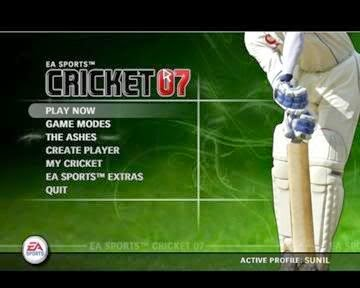 Download cricket 07 ea version full sports