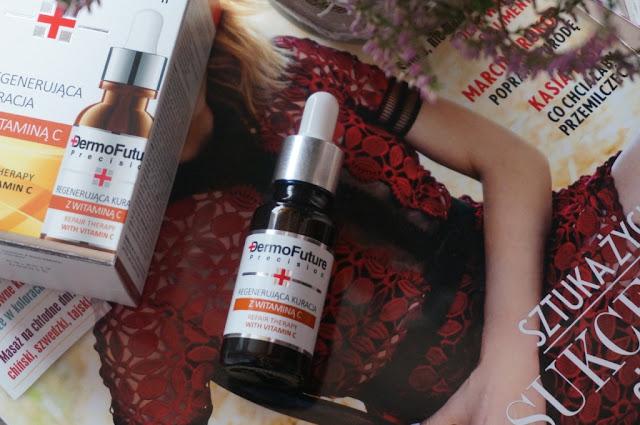 Dermo Future Precision Regenerująca kuracja z witaminą C, czyli jak pielęgnować skórę jesienią