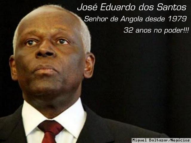 """""""DEMOCRATA"""" EDUARDO DOS SANTOS, A CARA DA  DITADURA ANGOLANA EM DESESPERO"""
