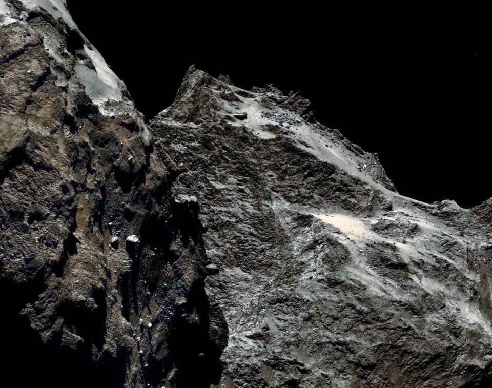 Gros Plan sur la Comète