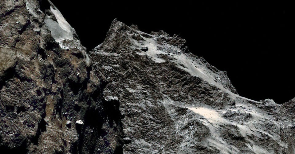 A se passe l haut gros plan sur la com te - Plan sur la comete ...