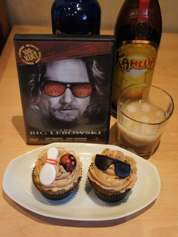 The Big Lebowski White Russian CupcakesWhite Russian Lebowski