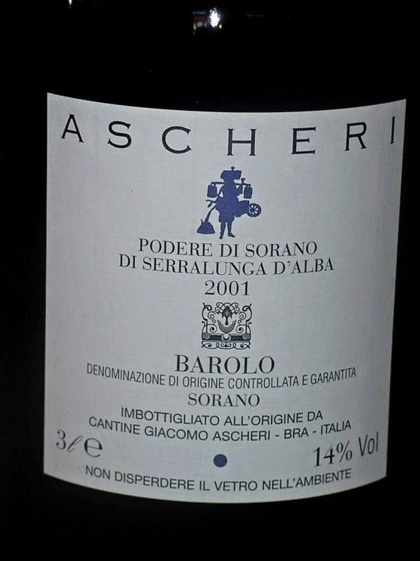 2001 Ascheri Barolo Sorano