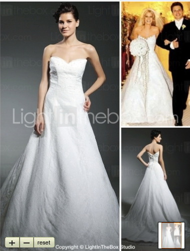 Get the Replica of Jessica Simpson Wedding Dress | OctovianaBlog