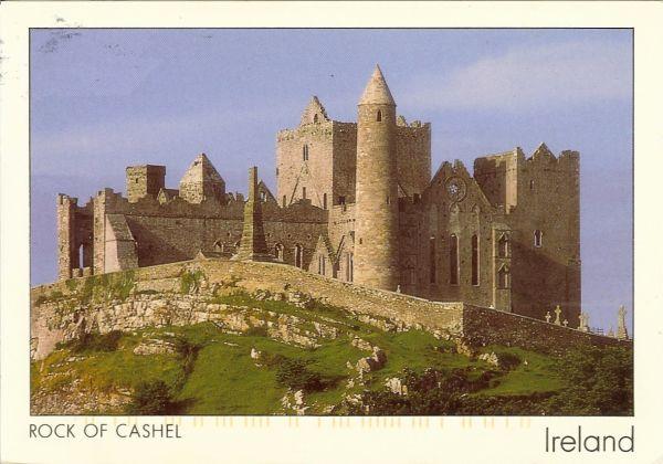 medieval castle on a rocky outcrop