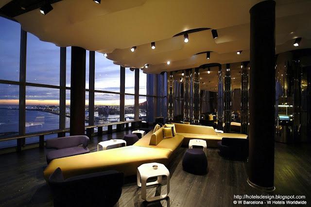 Les plus beaux hotels design du monde h tel w barcelona for Hotel design a barcelone