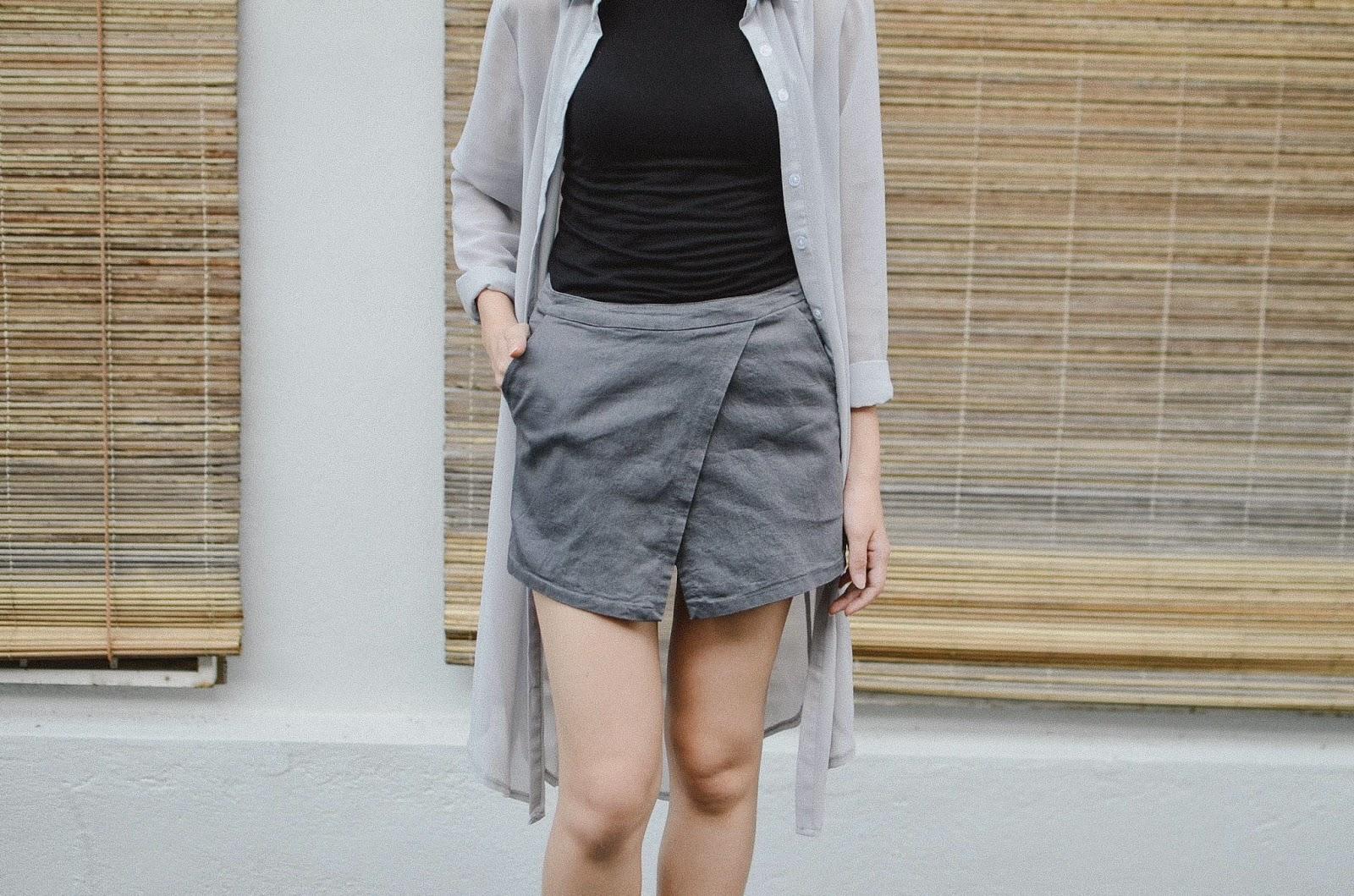 Fashion Clicks Just Click Your Way To Monday Shopping Joyce Black Culotte Hitam L Culottes Skorts