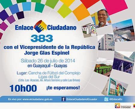 Sabatina de Correa 383 del 26 julio 2014
