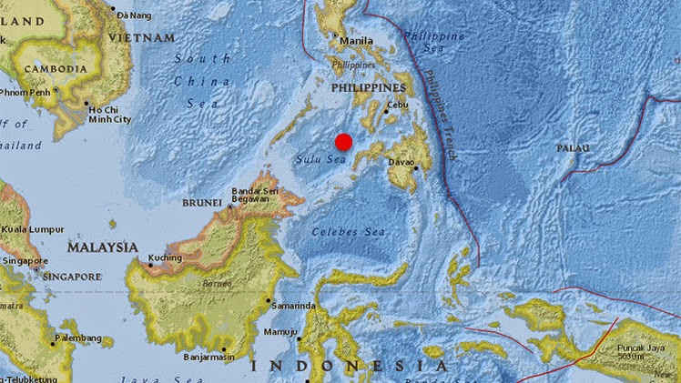 Sismo de 6,1 grados en Filipinas, 29 de Diciembre 2014