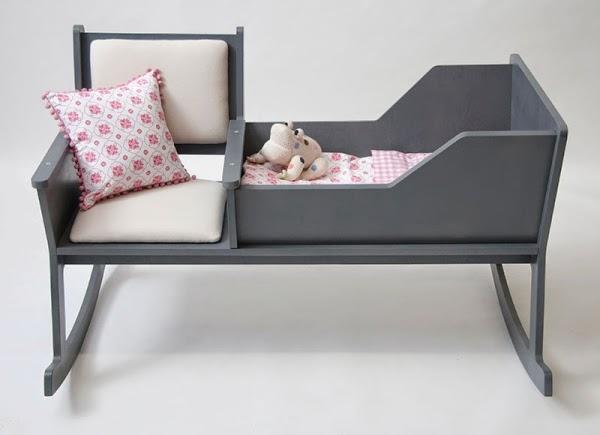 Conseils d co et relooking chaise bascule berceau une for Chaise bercante pour allaiter